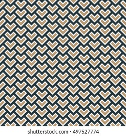 seamless vector pattern of overlapping corners.