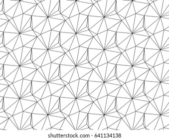SEAMLESS VECTOR PATTERN. REPEAT TRIANGLE IN NETWORK. MODERN GEOMETRIC TEXTURE