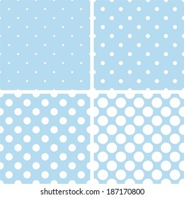 Blue polka dot numbers clipart Rustic block number clip art Pastel blue decorative images for commercial use