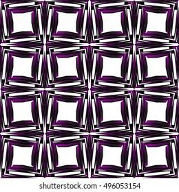 seamless vector pattern of square. purple gradient. vector illustration