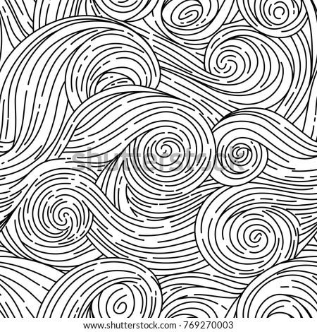 Seamless vector pattern Van