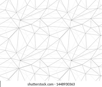 Seamless vector polygonal background. Modern minimalistic design. Vector illustration for web design. Low poly art