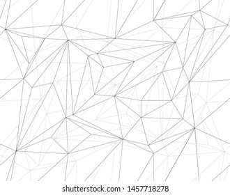 Seamless vector polygonal background. Modern minimalistic design. Vector illustration for web design. Low poly art