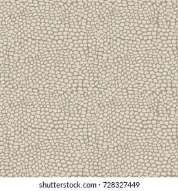 Seamless vector reptile print pattern