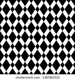 Seamless vector. Rhombuses ornament. Diamonds backdrop. Lozenges pattern. Ethnic motif. Geometric background. Digital paper, textile print, web design, abstract wallpaper