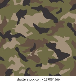 Seamless vector square camouflage series in the US Multi Cam scheme