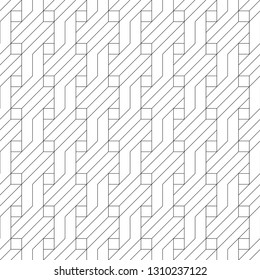 Seamless vector the template consisting of  rhombuses of the different sizes. An abstract background from the thin line for design of the card, a cover, a flyer.
