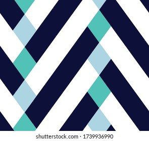 Seamless vector zigzag patern. Chevrons colorfull pattern. Geometric bright pattern for fashion and interior textiles. Trendy diagonal geometric pattern . Rhombus summer design.