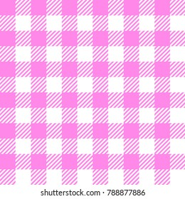 Seamless vichy vector pattern