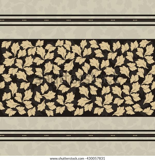 Seamless Victorian Wallpaper Tile Stock Vector Royalty Free