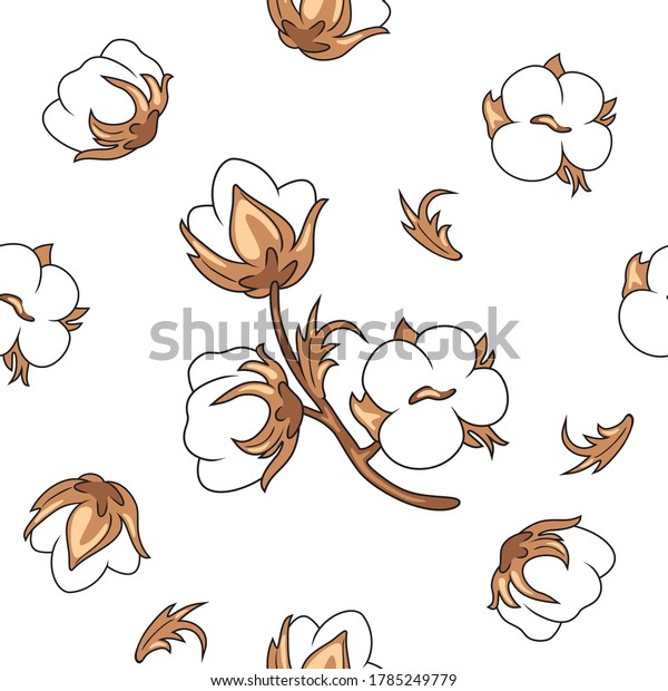 seamless-vintage-background-blooming-cot