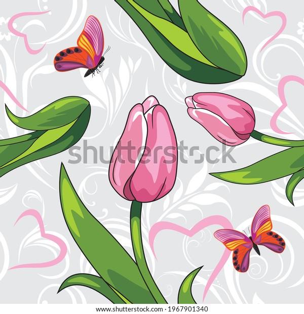 seamless-vintage-pattern-witn-pink-600w-
