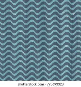 seamless vintage sea pattern