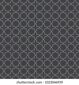 Seamless vintage trellis lattice pattern. Ideal for use in labels, packaging and other design applications.