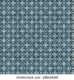 Seamless vintage worn out check pattern cloth background. Seamless Background image of vintage worn out check cloth pattern.