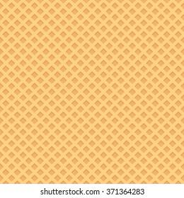 Seamless wafer background. Vector illustrator.