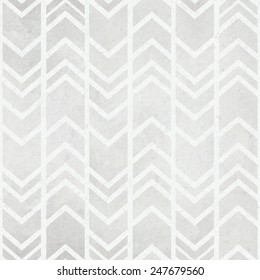 Seamless  watercolor paper background with tribal ikat watercolour grey pattern