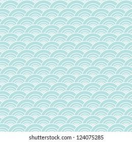 Seamless wave pattern