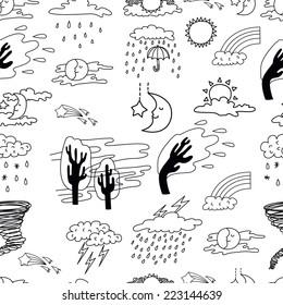 Doodle Climate Change Images, Stock Photos & Vectors