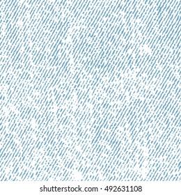 Seamless white jeans texture