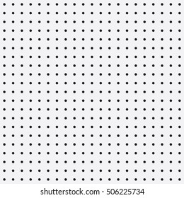 Seamless white peg board texture pattern