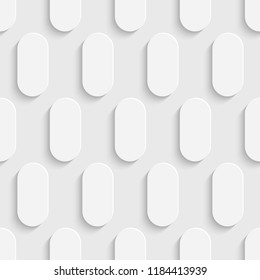 Seamless White Wallpaper. Decorative Regular Pattern. Abstract Graphic Design