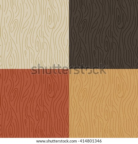 Seamless Wood Texture Vector Repeatable Wood Stock Vector Royalty