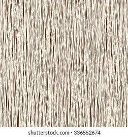 Seamless woodcut pattern. Wooden vector background