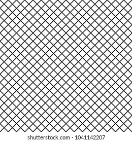 Seamlessly repeatable pattern with slanted, oblique, diagonal lines. Mesh, grid pattern