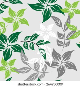 Seamples Flower illustration  Floral Pattern Texture Art