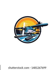 seaplane logo, a design for business