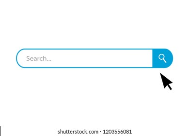 Search bar vector icons