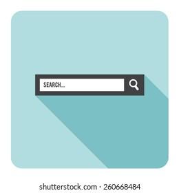 Search bar. Vector illustration.