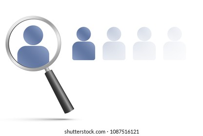 Search ,Find or Hiring employees/people for work or team.
