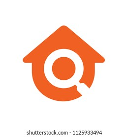 Search Home Vector Logo, Home Inspector Icon, Real Estate Finder, Home Inspection Icon Design
