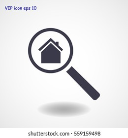 search house, icon, vector best flat icon, EPS