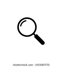 Search icon. Magnifying glass icon symbol vector illustration
