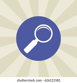 search icon. sign design. background