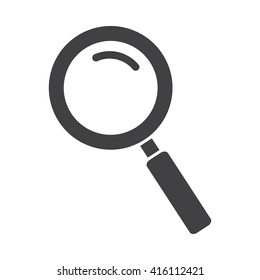 Search Icon Vector Illustration on the white background.