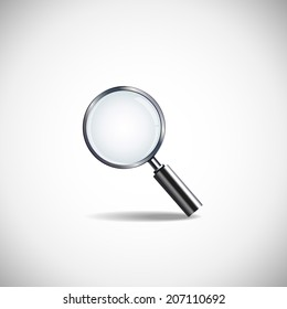 Search Icon Vector Set. Search icon Vector. Magnifier on white background.