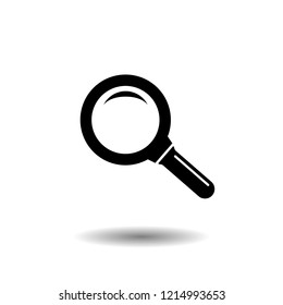 Search icon. vector symbol isolated on white background EPS10