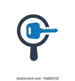 Search Keyword Icon