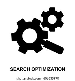 Search Optimization Glyphs Icon