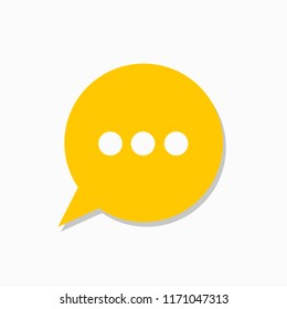 Search. Yamb yandex icon. Colorful speech bubbles isolated. Concept for blog design, chat, social network, forum, communication. Vector. EPS 10.