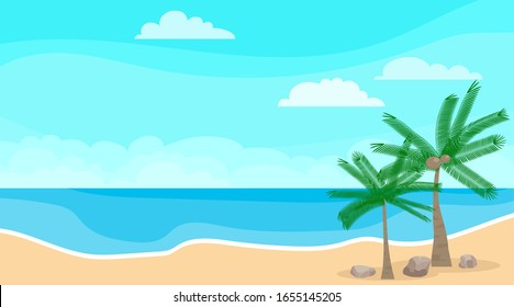 Beach Cartoon Images Stock Photos Vectors Shutterstock Milo the cartoon for kids, milo is a cute bunny rabbit. https www shutterstock com image vector seascape sea clouds beach palm trees 1655145205