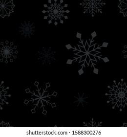 Seasonal Winter Holiday Snowflake Collection