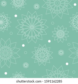 Seasonial Winter Holiday Snowflake Collection