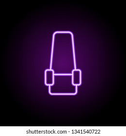 seat place icon. Elements of Web in neon style icons. Simple icon for websites, web design, mobile app, info graphics