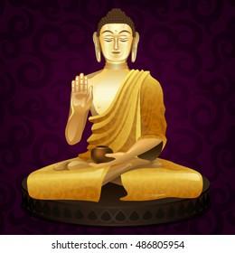 gautama buddha images stock photos vectors shutterstock