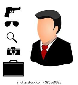 Secret agent items